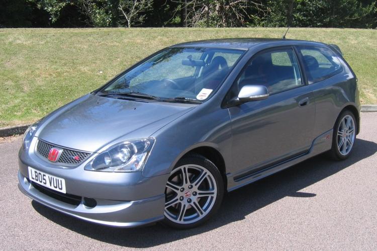 2005 Honda Civic Headlights