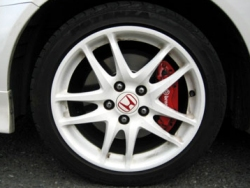 "Signature 17"" Type R Alloy Wheels and Powerful Brembo Brakes"