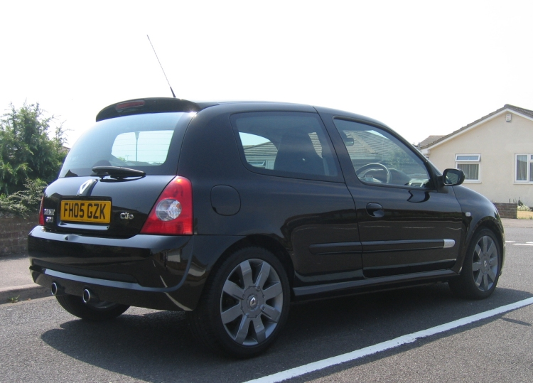 rare 06 plate black 182 cup for sale
