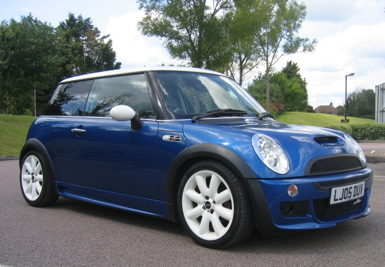2005 MINI Cooper S Chilli Pack Hyper Blue Works and AC Schnitzer 200BHP