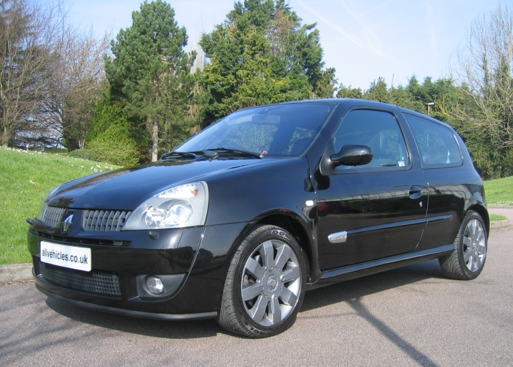 USED BLACK RENAULT CLIO 182 CUP FOR SALE CALL 01903 782349