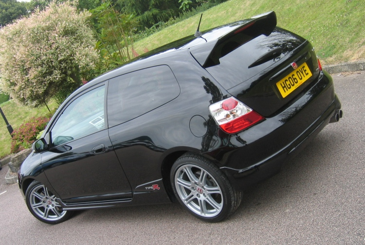 used 2005 honda civic type r premier a c nighthawk black for sale