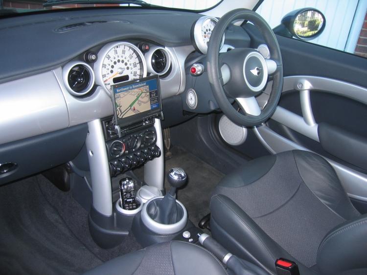 2007 Mini Cooper S Interior. MINI Cooper S Chilli Pack