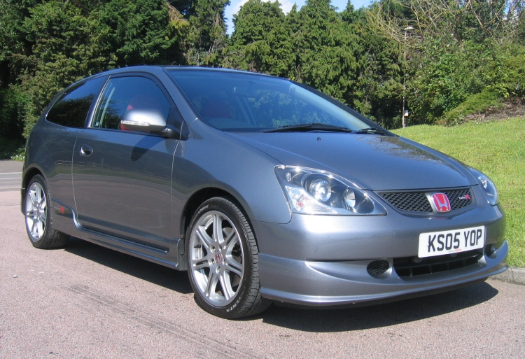 2005 honda civic 2 0i vtec type r final edition cosmic grey for sale